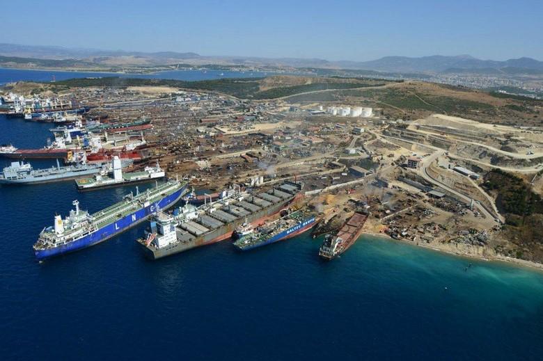 Aliağa Ship Recycling Field
